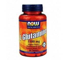 NOW - L-Glutamine 1500mg. / 90 Tabs.