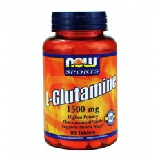 NOW - L-Glutamine 1500mg. / 90 Tabs.