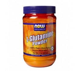 NOW - L-Glutamine Powder / 170 gr. Хранителни добавки, Аминокиселини, Глутамин