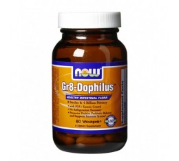 NOW - Gr8-Dophilus ™ / 60 VCaps. Хранителни добавки, Витамини, минерали и др.