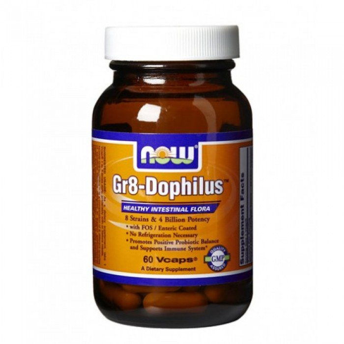 NOW - Gr8-Dophilus ™ / 60 VCaps.