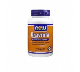 NOW - Graviola 500mg. / 100 Caps. Хранителни добавки, На билкова основа