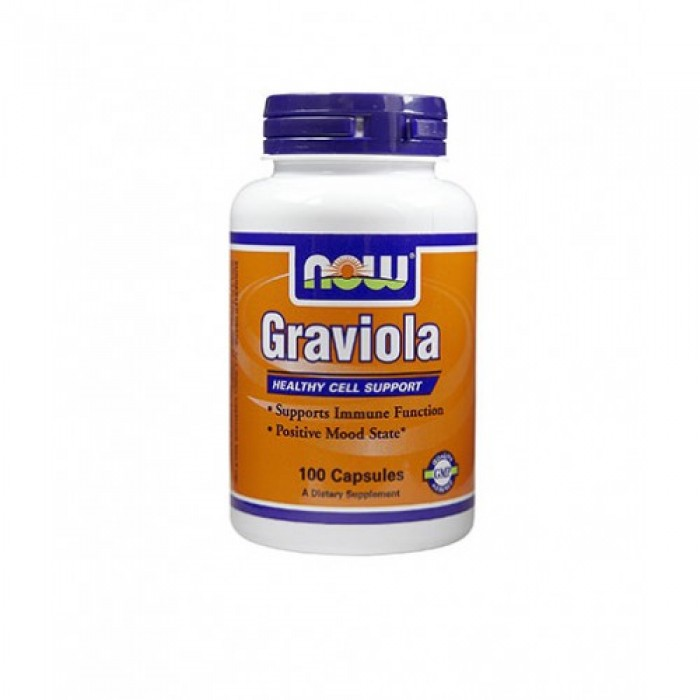 NOW - Graviola 500mg. / 100 Caps.