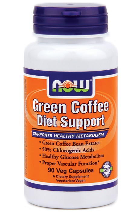 NOW - Green Coffee Diet Support / 90 Vcaps.