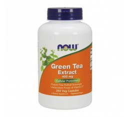 NOW - Green Tea Extract 400mg. / 250 Caps.