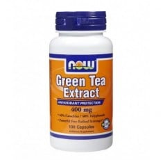 NOW - Green Tea Extract 400mg. / 100 Caps.