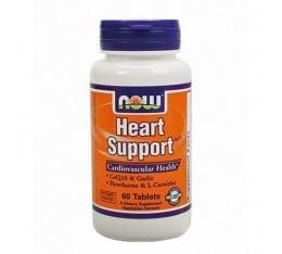 NOW - Heart Support / 60 Tabs. Хранителни добавки, Здраве и тонус