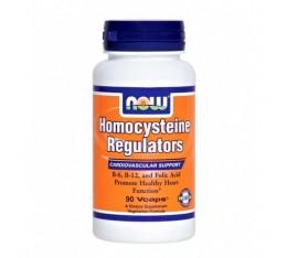 NOW - Homocysteine Regulators / 90 VCaps. Хранителни добавки, Здраве и тонус