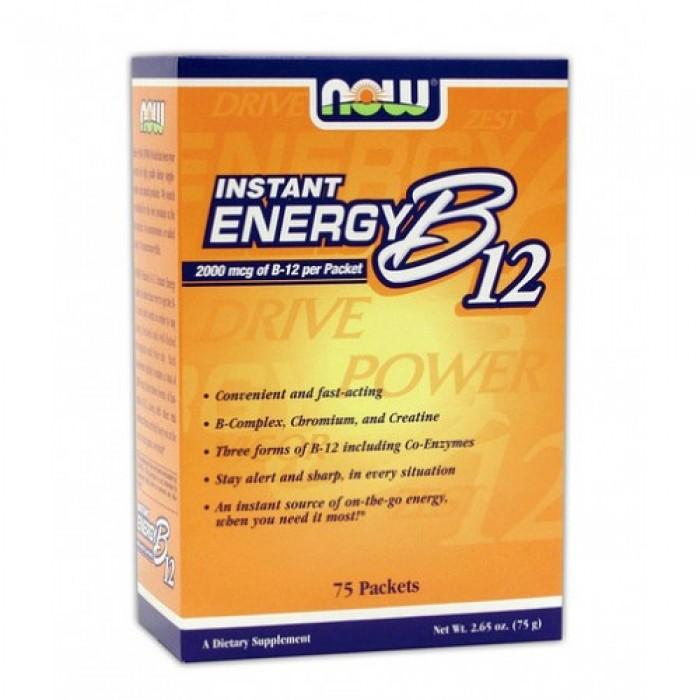 NOW - Instant Energy B-12 / 75 Packs