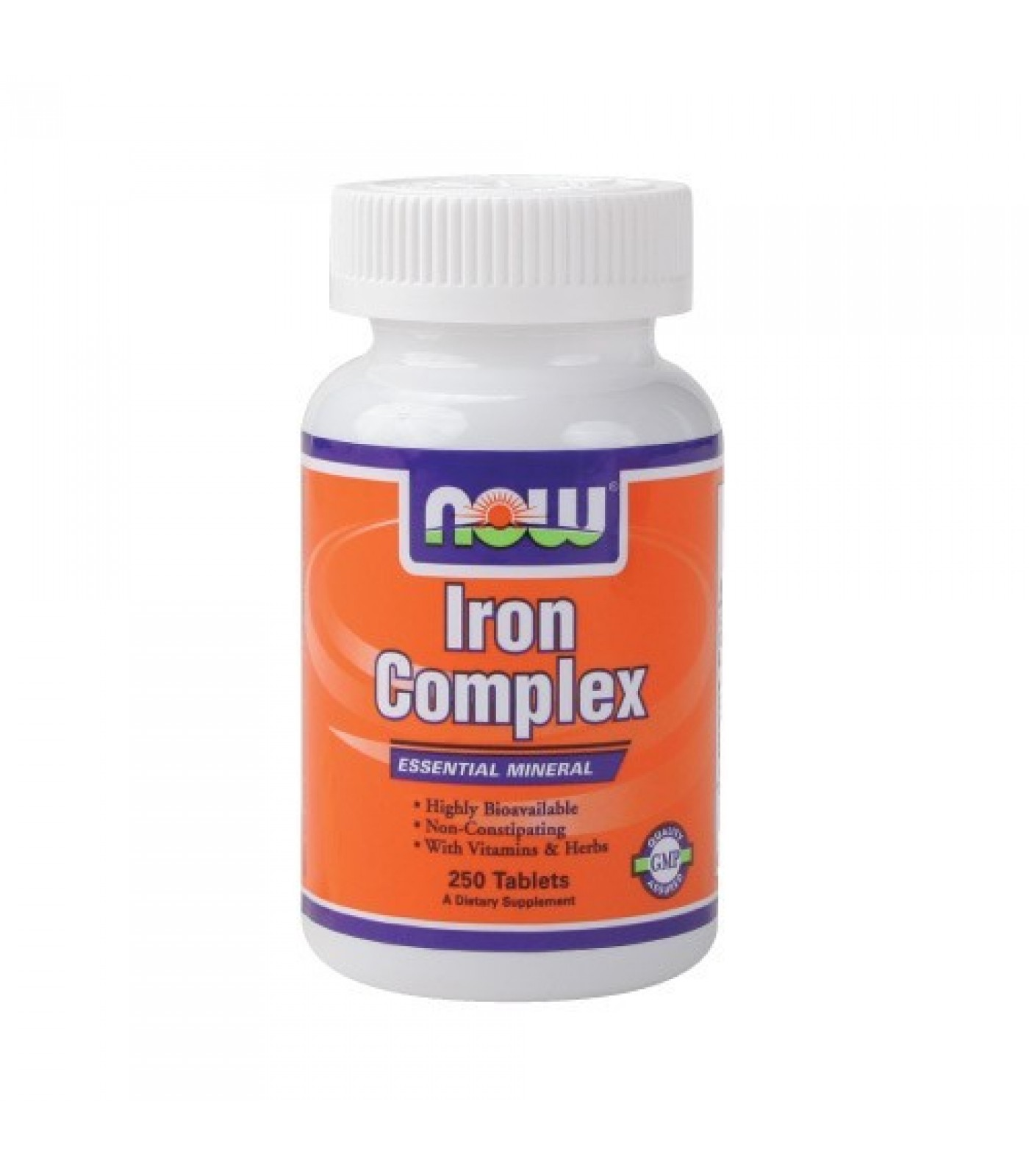 NOW - Iron Complex / 100 Tabs.