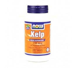 NOW - Kelp 150mcg. / 200 Tabs.