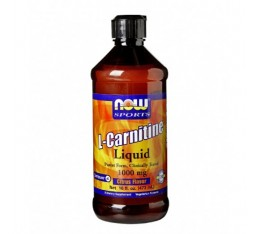 NOW - L-Carnitine Liquid / 465ml.