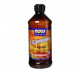 NOW - L-Carnitine Liquid (Tropical Punch) 1000mg. / 473ml. Хранителни добавки, Отслабване, Л-Карнитин