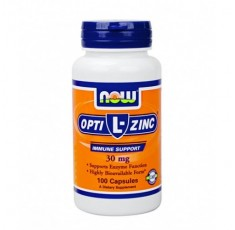 NOW - L-OptiZinc ® 30mg. / 100 Caps.