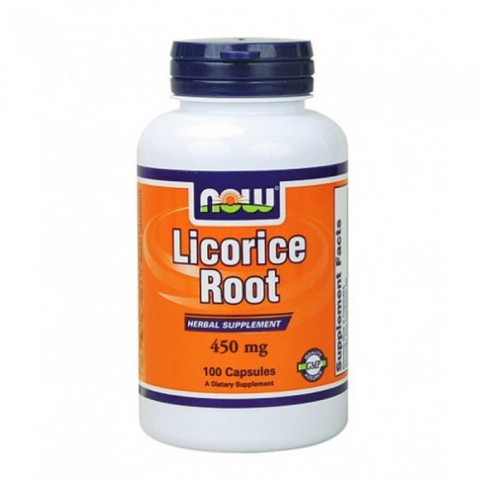 NOW - Licorice Root 450mg. / 100 Caps.