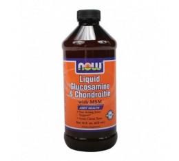 NOW - Liquid Glucosamine (Chondroitin) with MSM / 473ml. Хранителни добавки, За стави и сухожилия