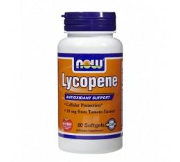 NOW - Lycopene 10mg. / 60 Softgels Хранителни добавки, Антиоксиданти, Ликопен