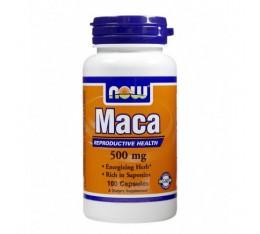 NOW - MACA 500mg. / 100 Caps. Хранителни добавки, На билкова основа