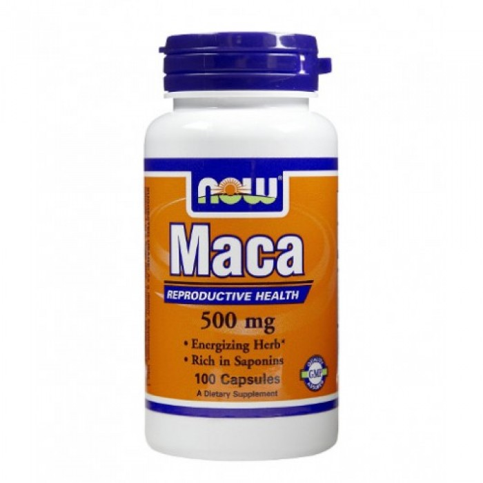 NOW - MACA 500mg. / 100 Caps.