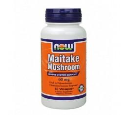 NOW - Maitake Mushroom 60mg. / 60 Caps.