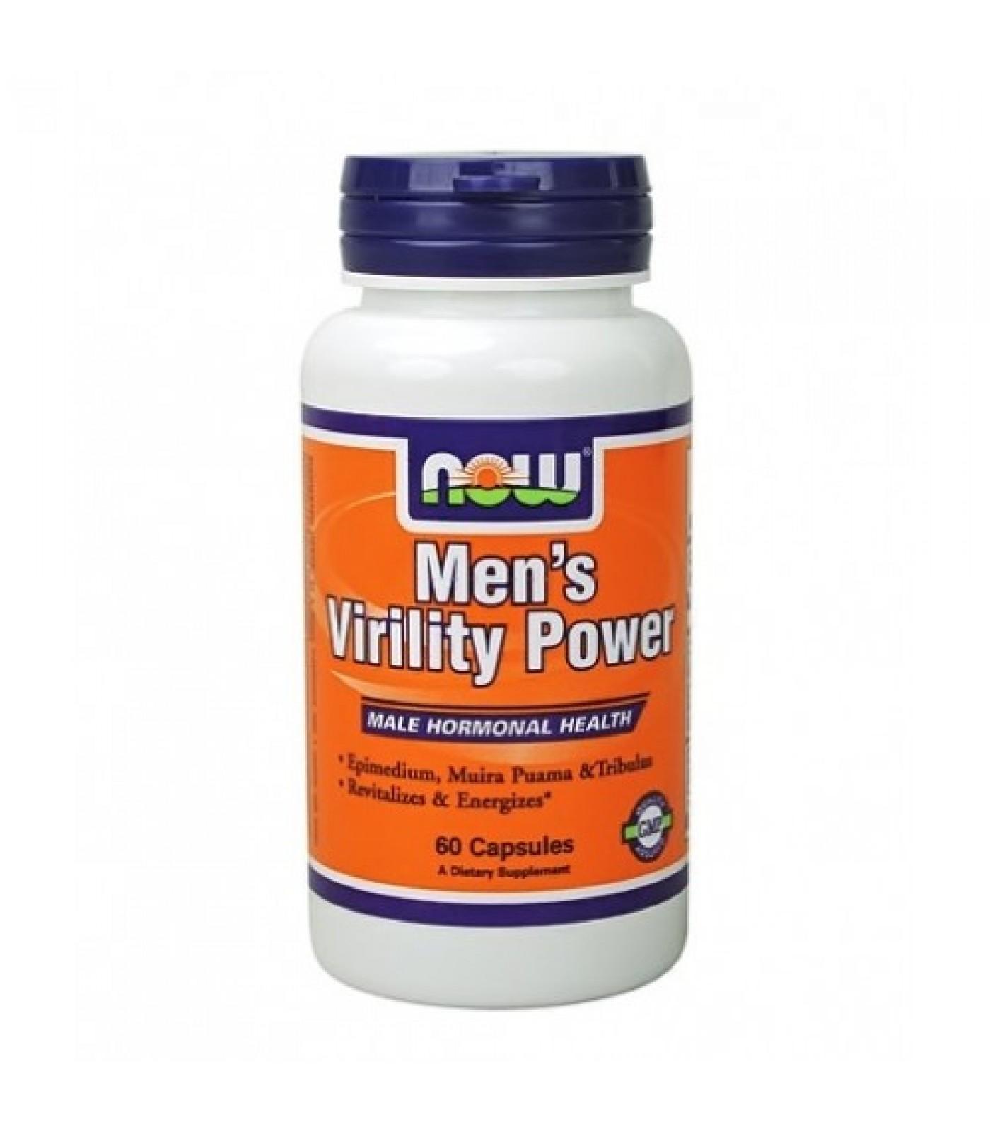 NOW - Men's Virility Power / 60 Caps.