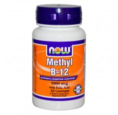 NOW - Methyl B-12 (5,000mcg.) / 60 Loz.