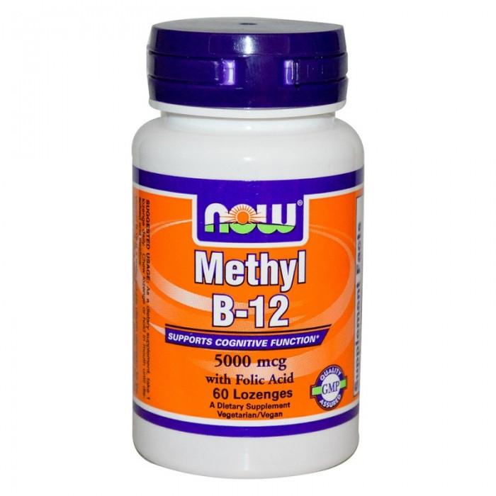 NOW - Methyl B-12 (5,000mcg.) / 60 Loz.