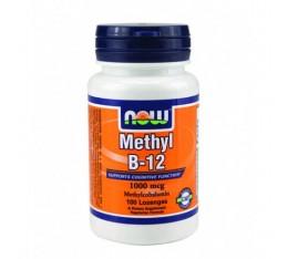 NOW - Methyl B-12 (1,000mcg.) / 100 Loz. Хранителни добавки, Витамини, минерали и др., Витамин B
