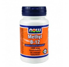 NOW - Methyl B-12 (1,000mcg.) / 100 Loz.