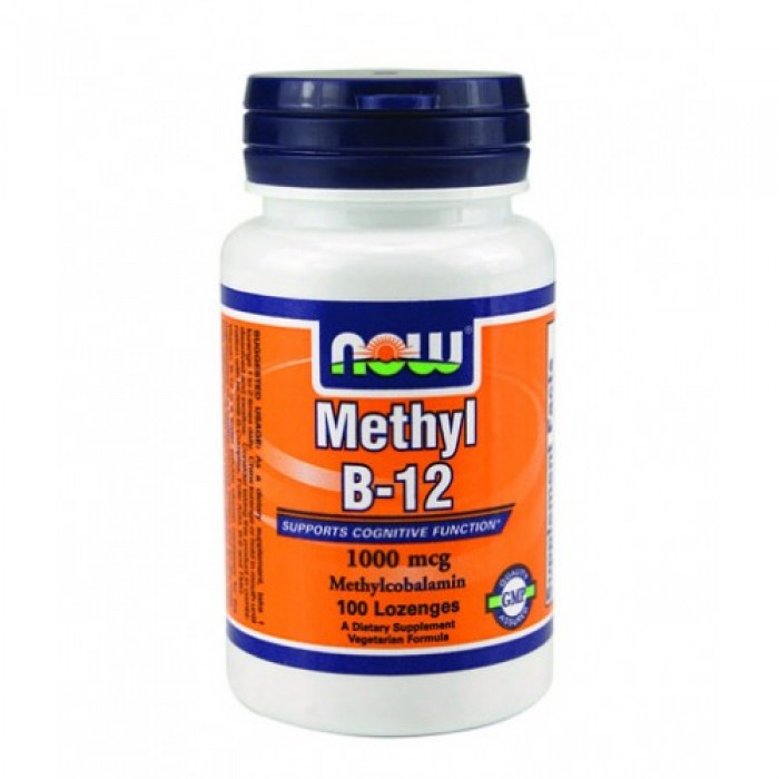 NOW - Methyl B-12 (1,000mcg.) / 100 Loz.