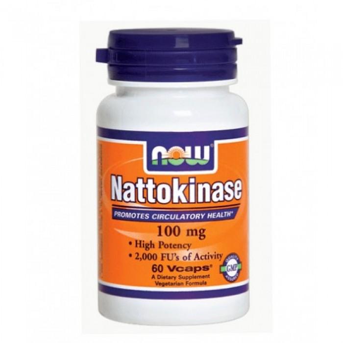 NOW - Nattokinase 100mg. / 60 VCaps.