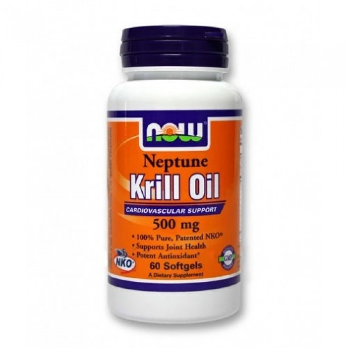 NOW - Neptune Krill Oil 500mg. / 60 Softgels