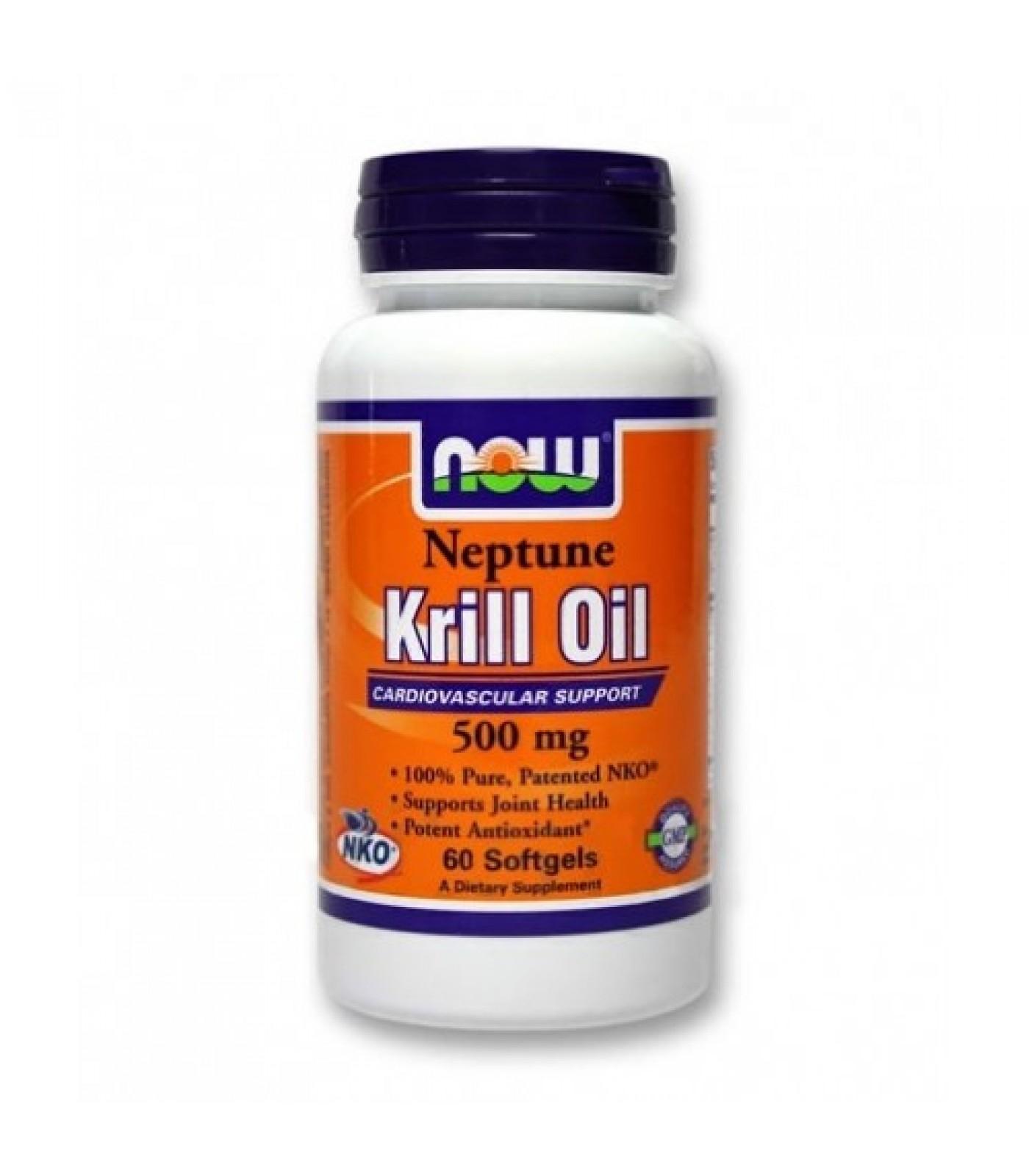 NOW - Neptune Krill Oil 500mg. / 60 Softgels