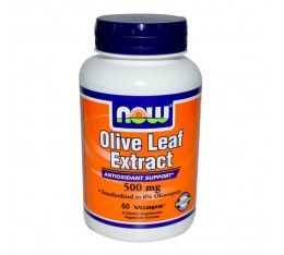 NOW - Olive Leaf Extract 500mg - 60 caps.