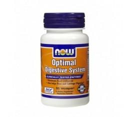 NOW - Optimal Digestive System / 90 VCaps. Хранителни добавки, На билкова основа