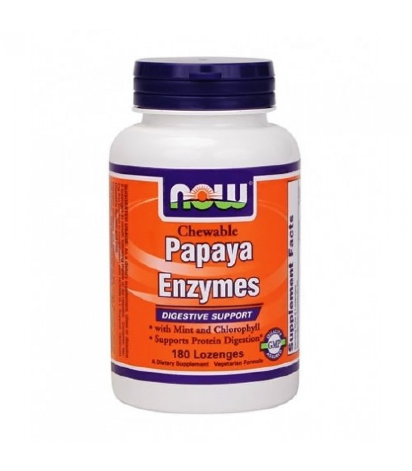 NOW - Papaya Enzymes / 180 Loz.