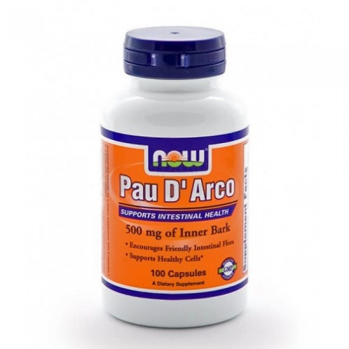 NOW - Pau D' Arco 500mg. / 100 Caps.