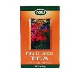 NOW - Pau D'Arco Tea / 30 Bags Хранителни добавки, На билкова основа