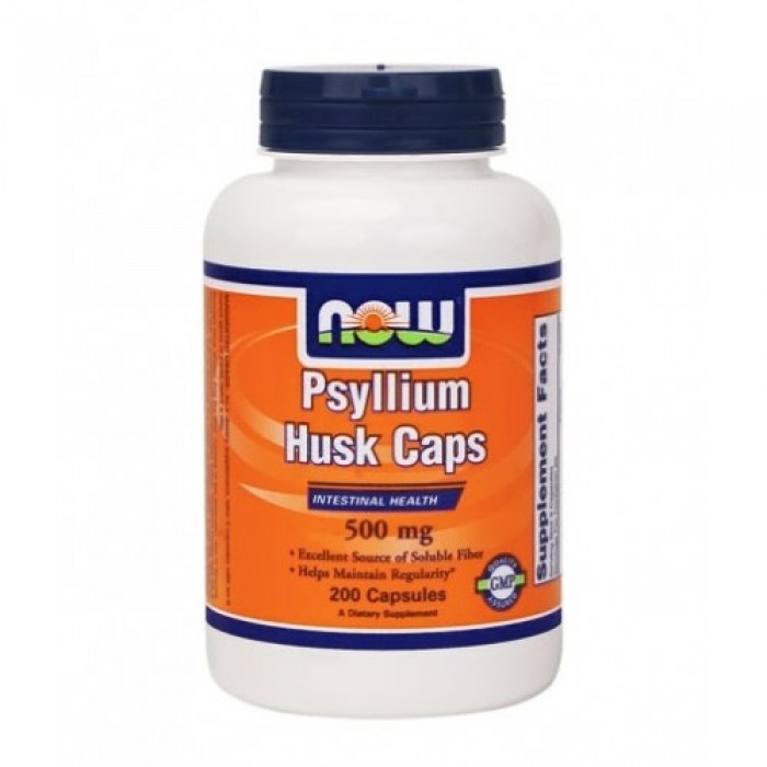 NOW - Psyllium Husk 500mg. / 200 Caps.