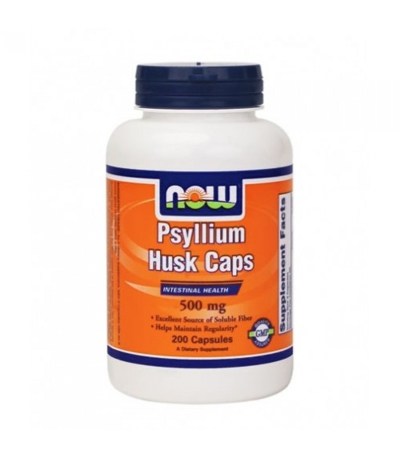 NOW - Psyllium Husk 500mg. / 200 Caps.