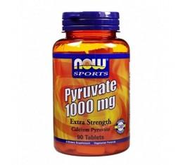 NOW - Pyruvate 1000mg. / 90 Tabs. Хранителни добавки, Енергийни продукти
