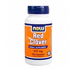 NOW - Red Clover 425mg. / 100 Caps. Хранителни добавки, На билкова основа
