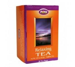 NOW - Relaxing Tea / 30 Bags Хранителни добавки, Антиоксиданти, Зелен чай