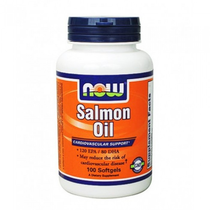 NOW - Salmon Oil 1000mg. / 100 Softgels
