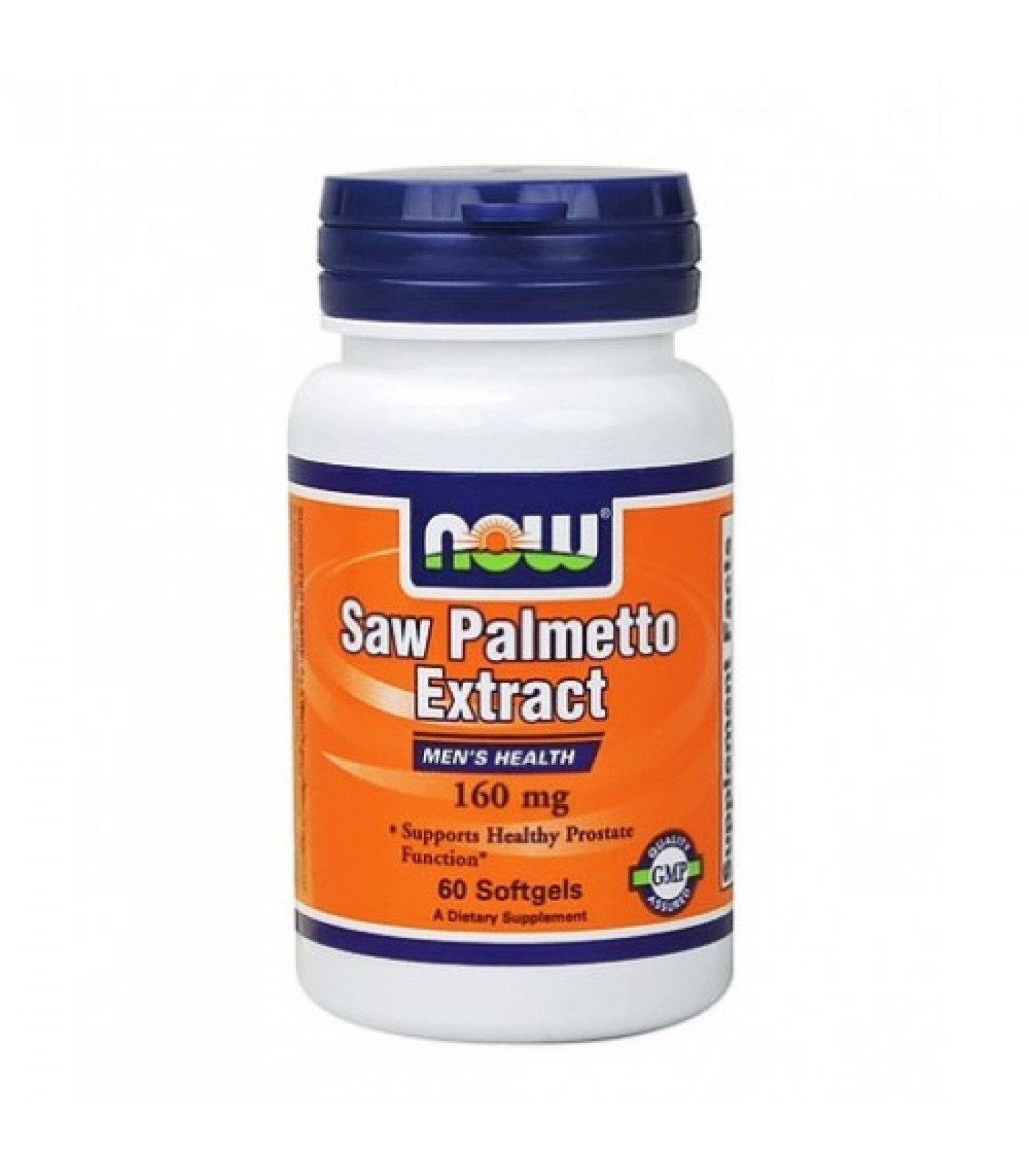 NOW - Saw Palmetto Extract 160mg. / 60 Softgels.