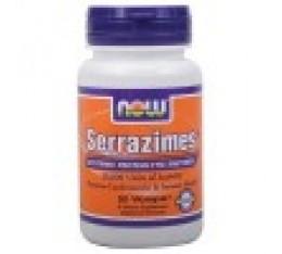 NOW - Serrazimes ® 20,000 Units / 90 VCaps. Хранителни добавки, Здраве и тонус, Ензими