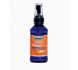 NOW - Silver Sol / 113.6 ml. Хранителни добавки, Витамини, минерали и др.