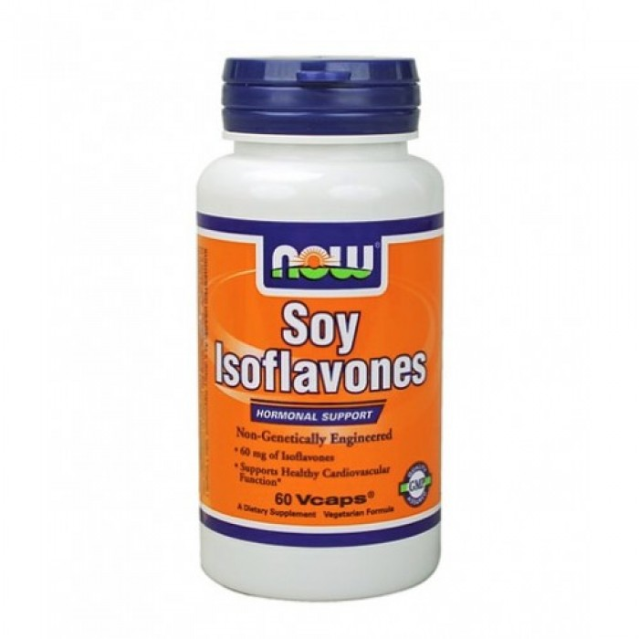 NOW - Soy Isoflavones (Non-GE) 150mg. / 60 VCaps.