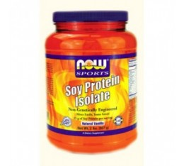 NOW - Soy Protein Isolate / 908 gr. Хранителни добавки, Протеини, Соев протеин