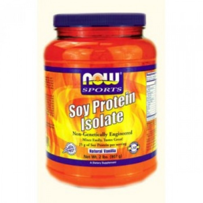 NOW - Soy Protein Isolate / 908 gr.
